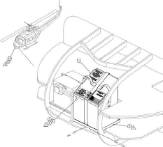 Bell 205B Nose Survival Kit