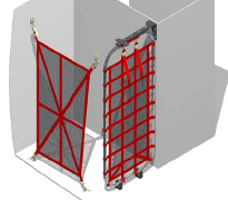 Bell 205/212/412 Cargo Net Retention System