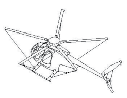 MD 500 Main Rotor Blade Tie-Down Tips