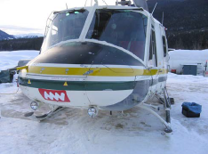 Bell 205/212 Pulse Light Installation