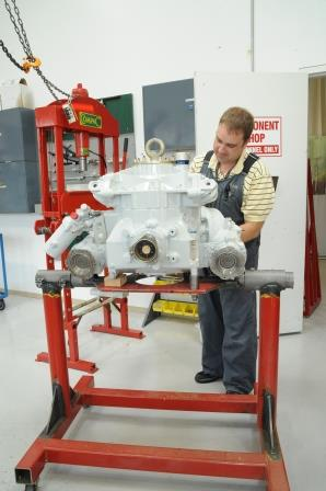 Helicopter Transmission Repair and Overhaul