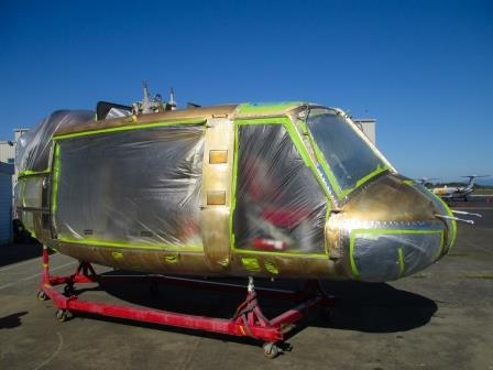 Helicopter Painting and Alodine Processes