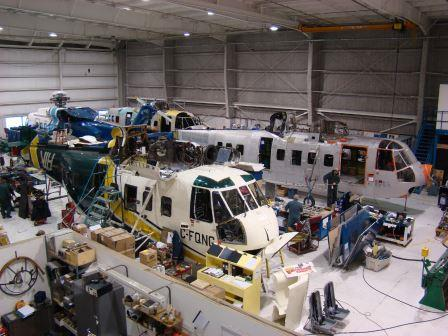 Sikorsky Structural Repairs