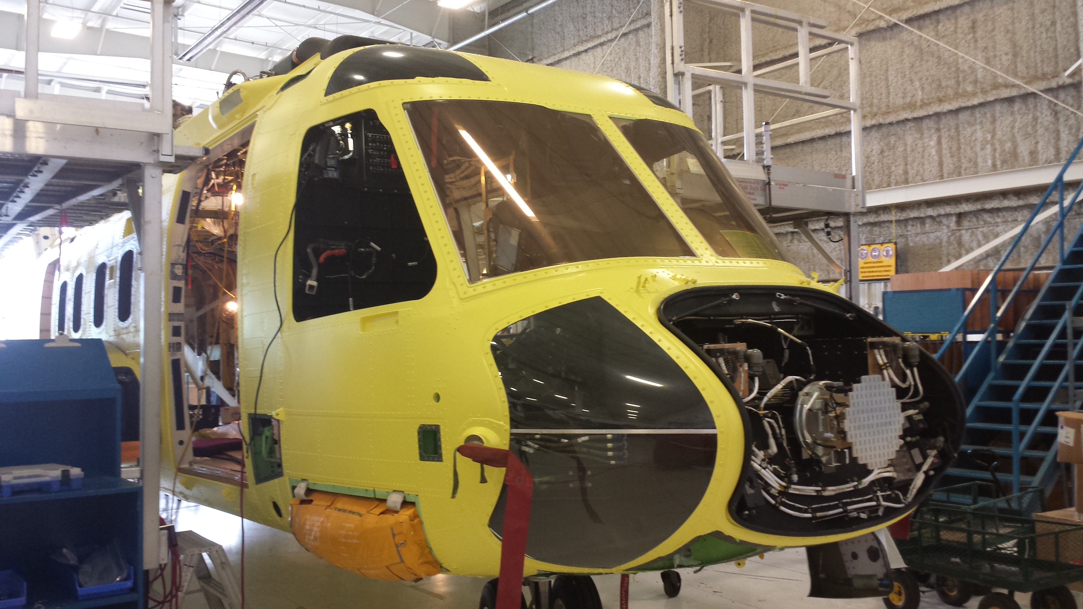 Helicopter maintenance & inspection services
