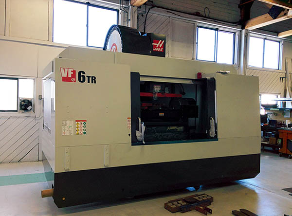 Haas VF6-40 TR 5-axis CNC milling machine